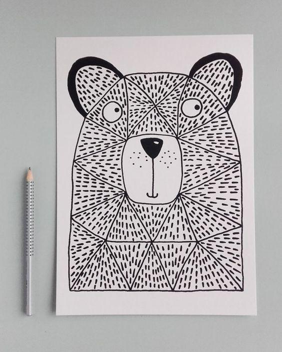 Zeichenvorschlag Bär